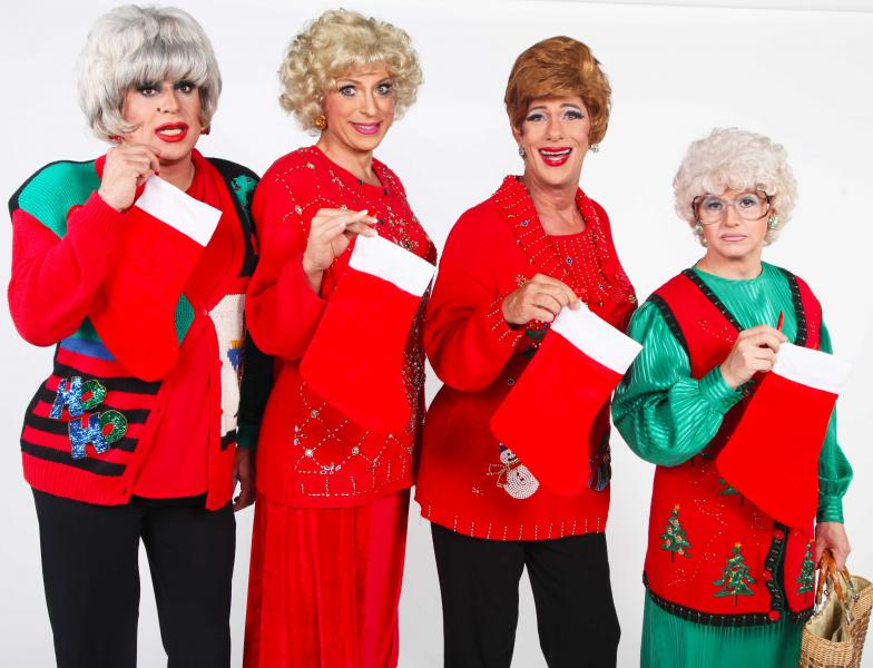 jim colucci special guests golden girls forever - A Golden Christmas Cast