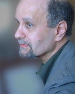 photo of Peter Thabit Jones, poet, sound-texturing