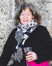 photo of writing instructor Joan Gelfand
